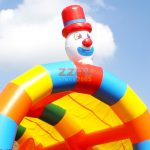 Circus Inflatable Bouncer #PLC-129  5x4x4m