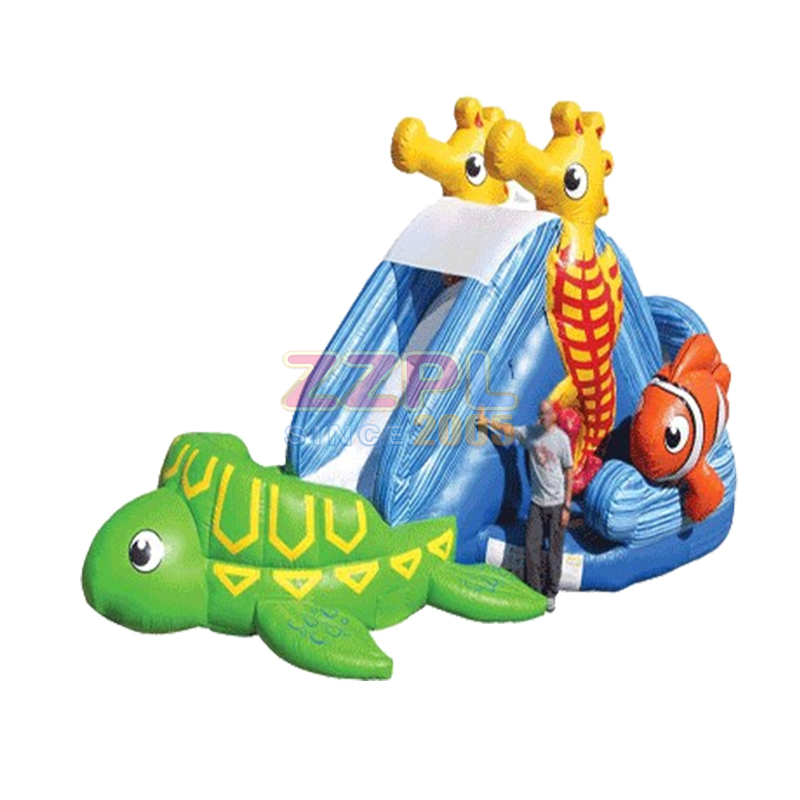 Seahorse Inflatable Slide 32′ Long x 17′ Wide x 14′ High