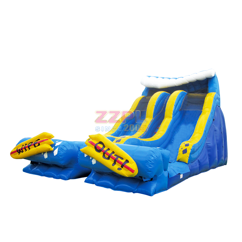 19 foot Wipe Out Inflatable Water Slide